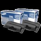 Brand New Original SAMSUNG MLT-P206A High Yield Laser Toner Cartridge (Twin Pack)