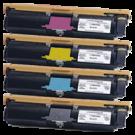 Xerox 6115 Laser Toner Cartridge Set Black Cyan Yellow Magenta High Yield