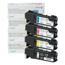 ~Brand New Original Xerox 6140 Laser Toner Cartridge Set Black Cyan Yellow Magenta