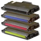 Xerox / TEKTRONIX 750 Laser Toner Cartridge Set Black Cyan Yellow Magenta