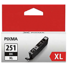 Brand New Original CANON CLI-251XL INK / INKJET High Yield Cartridge Black