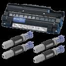 Brother DR200 & TN200 x4 Drum Unit / Laser Toner Cartridge Combo Pack
