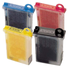 Brother LC02 Ink Cartridge Set Black Cyan Yellow Magenta