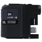Brand New Compatible BROTHER LC107BK (XXL) INK / INKJET Cartridge Black Super High Yield