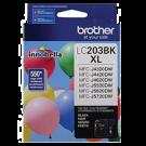 Brand New Original BROTHER INK LC203BKS INK / INKJET High Yield Black