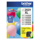 Brand New Original BROTHER INK LC203Y INK / INKJET Yellow