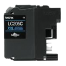 Brother LC205C-XXL INK / INKJET Extra High Yield Cartridge Cyan