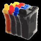 Brother LC21 Ink Cartridge Set Black Cyan Yellow Magenta