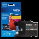 ~Brand New Original Brother LC79CS Extra High Yield Ink Cartridge Cyan
