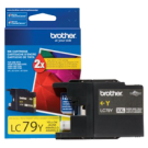 ~Brand New Original Brother LC79YS Extra High Yield Ink Cartridge Yellow