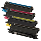 Brother TN115 Laser Toner Cartridge Set Black Cyan Yellow Magenta High Yield
