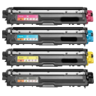 BROTHER TN221 / TN225 Laser Toner Cartridge Set High Yield Black Cyan Yellow Magenta