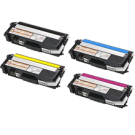 Brother TN315 Laser Toner Cartridge High Yield Set Black Cyan Magenta Yellow