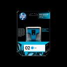 Brand New original HP C8771WN (02) INK / INKJET Cartridge Cyan