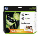 HP 62 INK / INKJET Cartridge COMBO PACK