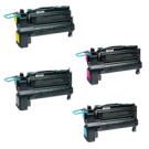 Lexmark C792 Laser Toner Cartridge Extra High Yield Set Black Cyan Magenta Yellow