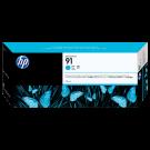 ~Brand New Original OEM HP C9467 (HP91) INK / INKJET Cartridge Cyan