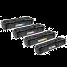 Canon 045H Laser Toner Cartridge Set High Yield Black Cyan Magenta Yellow