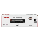 ~Brand New Original CANON 2662B001AA CRG-118BK Laser Toner Cartridge Black