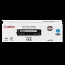 ~Brand New Original CANON 2661B001AA CRG-118C Laser Toner Cartridge Cyan