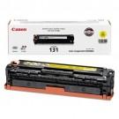 ~Brand New Original Canon 6269B001AA (Canon 131) Laser Toner Cartridge Yellow
