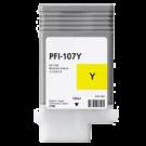 ~Brand New Original CANON 6708B001AA (PFI-107Y) INK / INKJET Cartridge Yellow