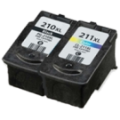 CANON PG-210 XL / CL-211 XL High Yield INK / INKJET Cartridge Combo