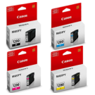 ~Original Brand New CANON PGI-1200 Set INK / INKJET Cartridge Black Yellow Magenta Cyan