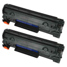 PACK of 2-HP CE278A Laser Toner Cartridge