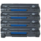 PACK of 4-HP CE285A HP85A Laser Toner Cartridge