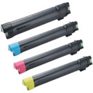 DELL C7765 Laser Toner Cartridge Set Black Yellow Cyan Magenta