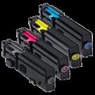 Dell C2660 / C2665 Laser Toner Cartridge Set Black Cyan Yellow Magenta