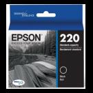 Brand New Original EPSON T220120-D2 (220) INK / INKJET Cartridge Black Dual Pack