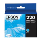 Brand New Original EPSON T220220 (220) INK / INKJET Cartridge Cyan