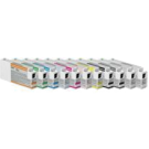 EPSON T636 INK / INKJET Cartridge Set Photo Black Cyan Vivid Magenta Yellow Light Cyan Vivid Light Magenta Light Black Matte Black Light Light Black Orange Green