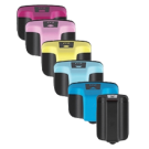 HP 02 INK / INKJET Cartridge Set Black Cyan Yellow Magenta Light Cyan Light Magenta