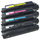 HP 4500 Laser Toner Cartridge Set Black Cyan Yellow Magenta