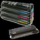 HP 8500 Laser Toner Cartridge Set Black Cyan Yellow Magenta