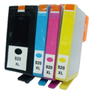HP 920XL INK / INKJET Set Black Cyan Yellow Magenta