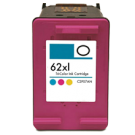 HP C2P07AN (62XL) INK / INKJET Cartridge High Yield Tri-Color