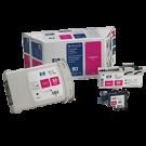 ~Brand New Original HP C4892A (HP 80) INK / INKJET Magenta Printhead & Cleaner Value Pack