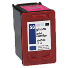 HP C6658A (58) INK / INKJET Cartridge Photo