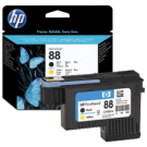 ~Brand New Original HP C9381A HP88 Printhead Black Yellow