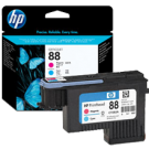 ~Brand New Original HP C9382A HP88 Printhead Cyan Magenta