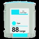 HP C9391A INK / INKJET Cartridge Cyan High Yield