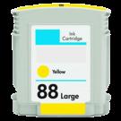 HP C9393A INK / INKJET Cartridge Yellow High Yield