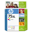 ~Brand New Original HP CB338WN (75XL) INK / INKJET Cartridge Tri-Color High Yield