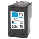HP CC641WN HP 60XL Black High Yield Ink Cartridge
