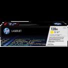 Brand New Original HP CE322A 128A Laser Toner Cartridge Yellow