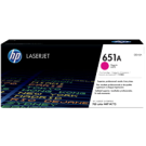 Brand New Original HP CE343A (651A) Laser Toner Cartridge Magenta